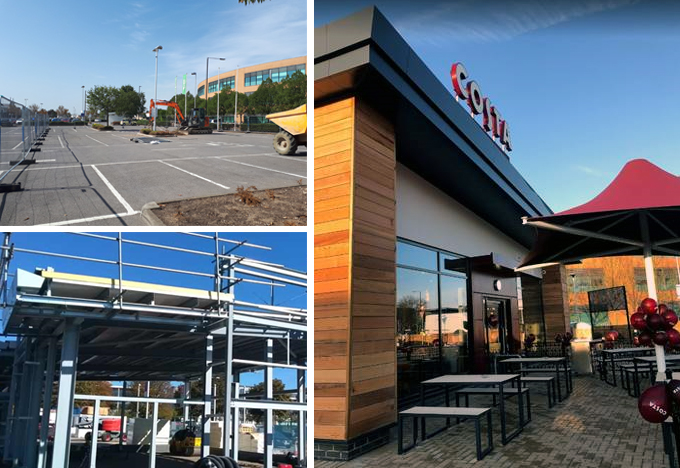 News: Powell Williams delivers new Costa drive-thru, Slough Retail Park for St James's Place UK plc/Orchard Street Investment Management LLP