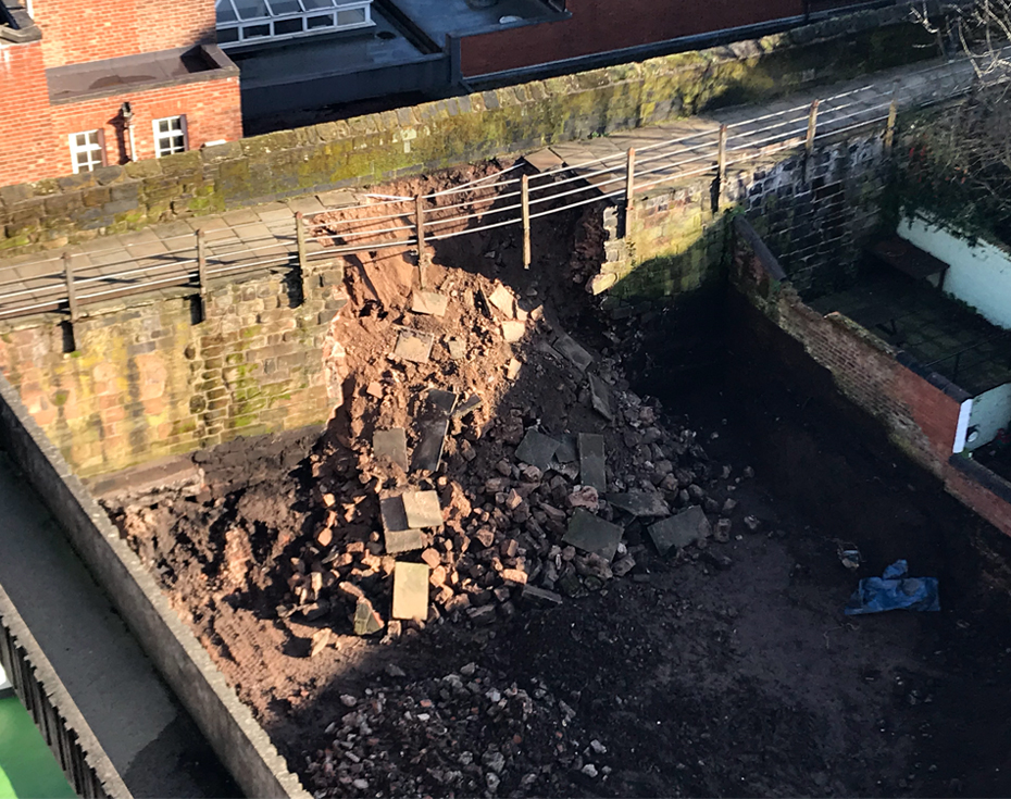 Viewpoint: Chester City Walls — a reminder of the importance of Party Wall Act assessments