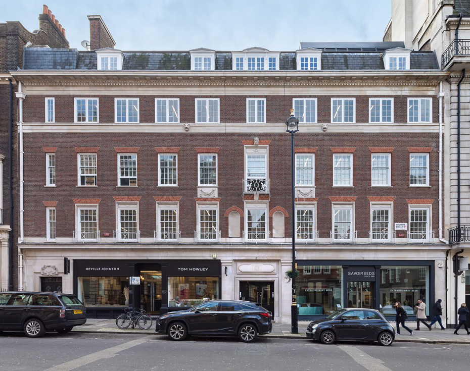 Powell Williams completes Wigmore Street office refurbishment for Capreon Asset Management